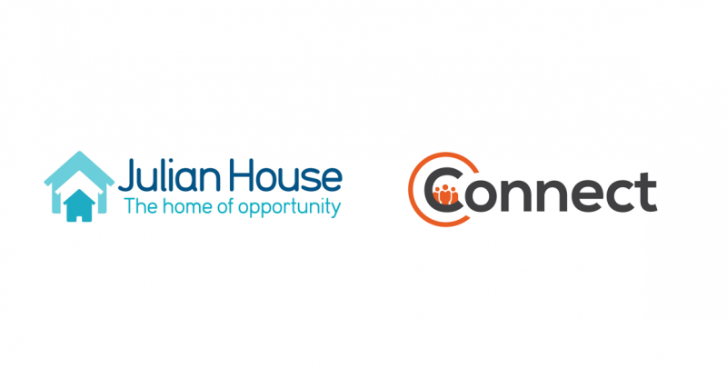 Julian House and Connect Centre Logos